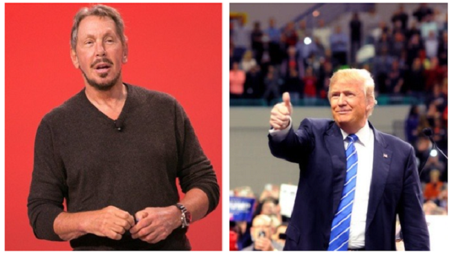 larry ellison trump